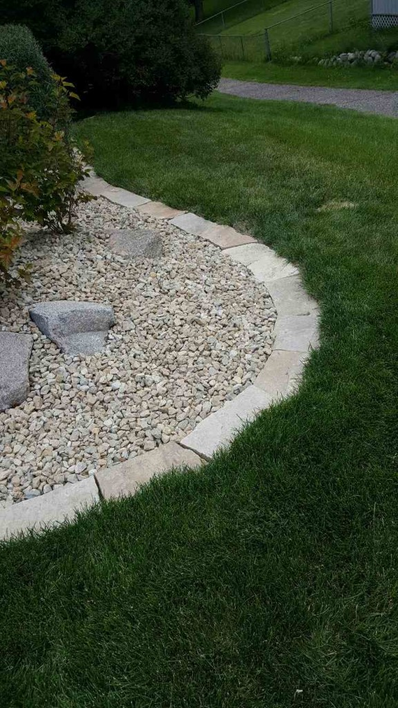 edging landscaping chanhassen