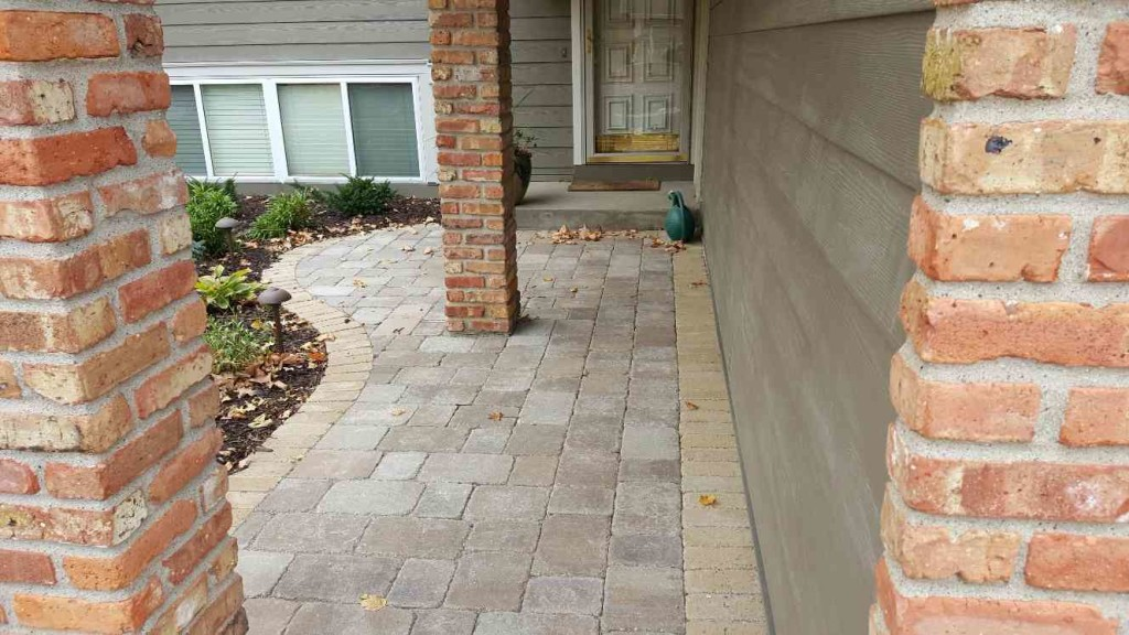 front entry pavers eden prairie